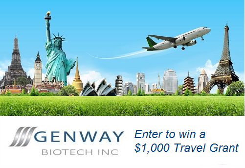 Genway Biotech's Travel Grant Contest